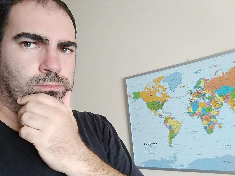 Mapamundi de viajes